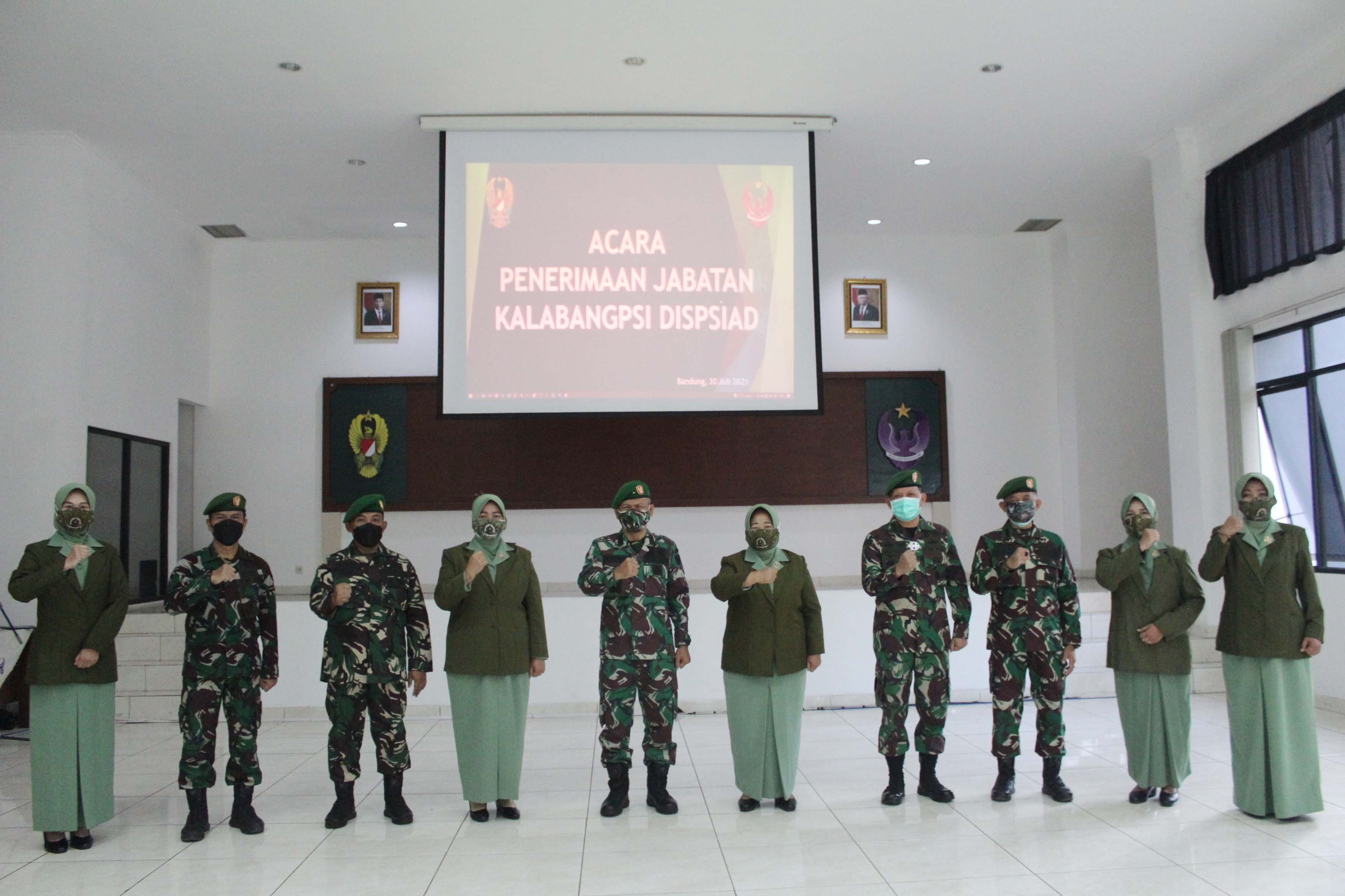 ACARA PENERIMAAN JABATAN KALABANG DISPSIAD