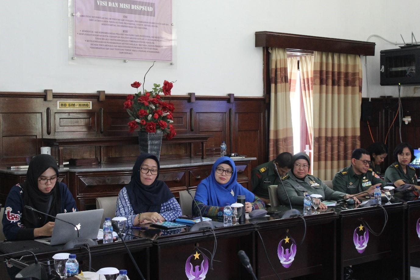 KERJASAMA ANTARA DISPSIAD DAN FAKULTAS PSIKOLOGI UNIVERSITAS INDONESIA (UI)